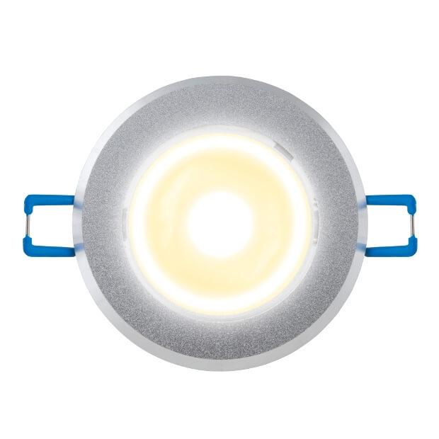Светильник светодиодный встраиваемый ULM-R31-3W/WW IP20 Sand Silver