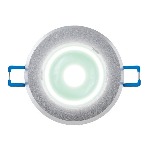 Светильник светодиодный встраиваемый ULM-R31-3W/NW IP20 Sand Silver