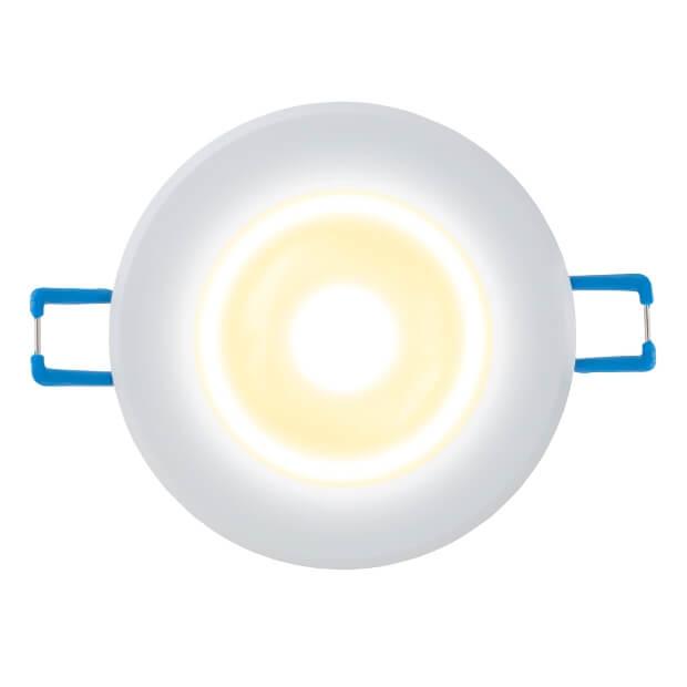 Светильник светодиодный встраиваемый ULM-R31-3W/WW IP20 Silver