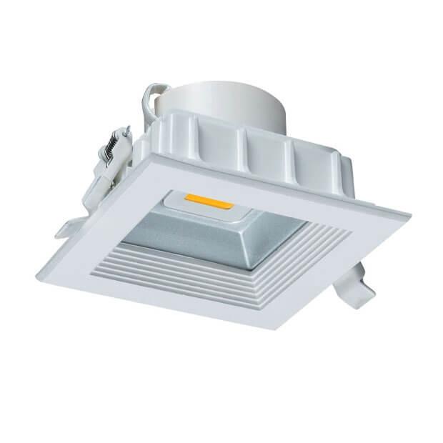 Светильник светодиодный встраиваемый ULT-D02C-10W/WW WHITE