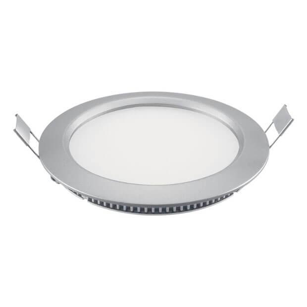 Светодиодный ультратонкий светильник ULP-R120-06/NW SILVER