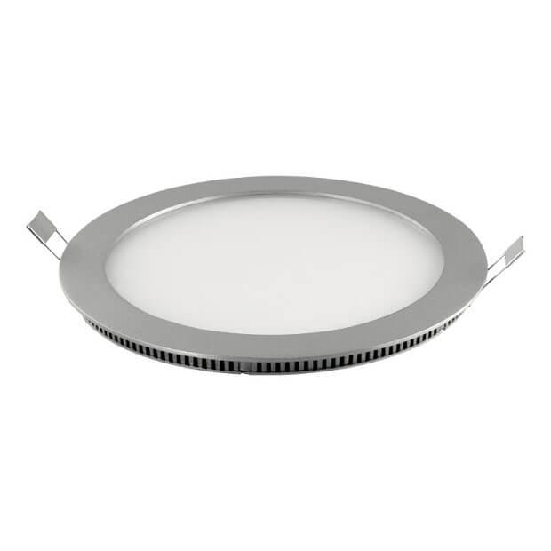 Светодиодный ультратонкий светильник ULP-R240-18/WW SILVER