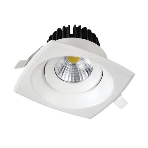 Светильник светодиодный встраиваемый ULМ-S65A-8W/NW WHITE