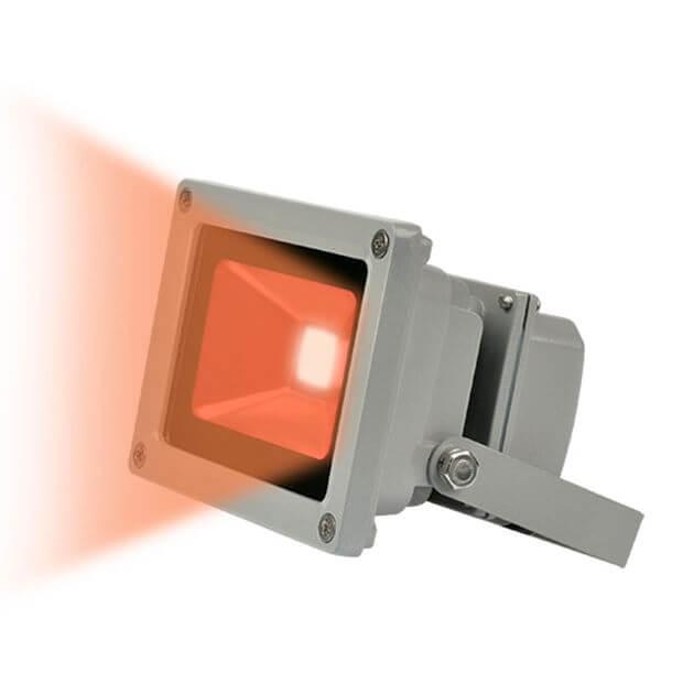 Прожектор светодиодный ULF-S01-10W/RED IP65 110-240В
