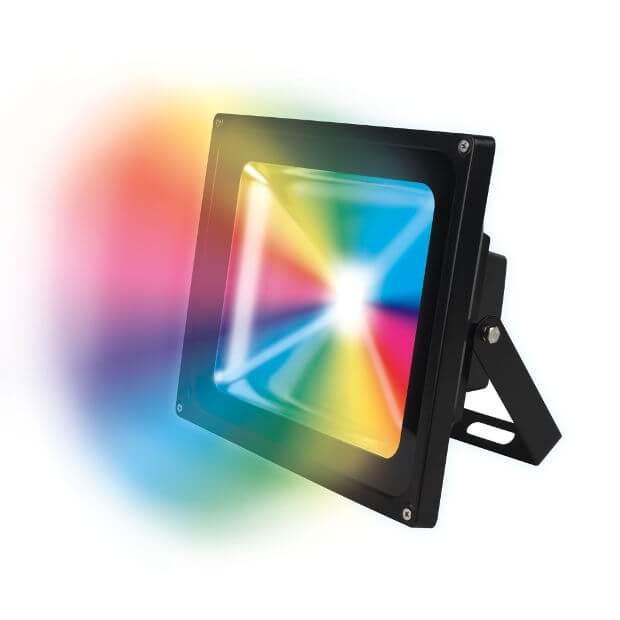 Прожектор светодиодный ULF-S01-20W/RGB/RC IP65 110-240В