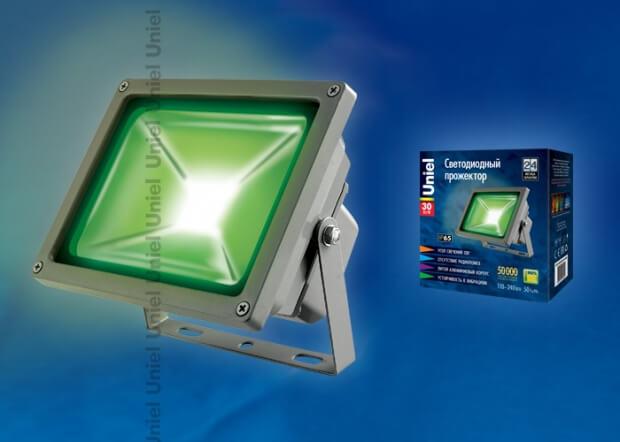 ULF-S01-30W/GREEN IP65 110-240В картон