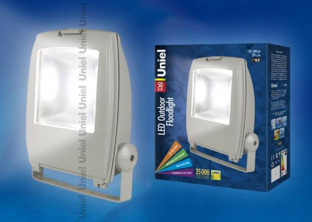 ULF-S02-50W/DW IP65 110-240В GREY картон