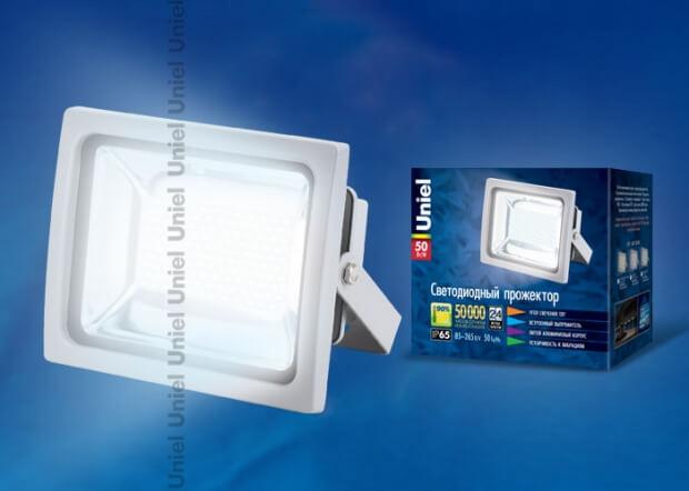 ULF-S04-50W/NW IP65 85-265В GREY картон