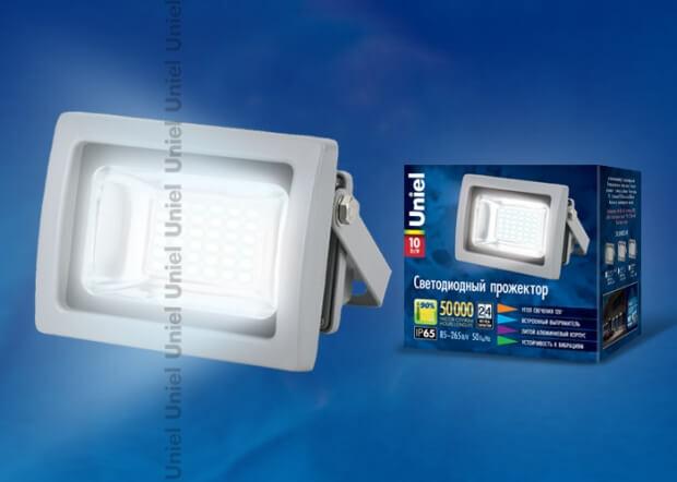 ULF-S04-10W/NW IP65 85-265В GREY картон