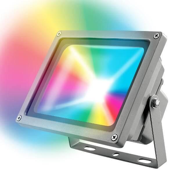 Прожектор светодиодный ULF-S01-10W/RGB/RC IP65 110-240В