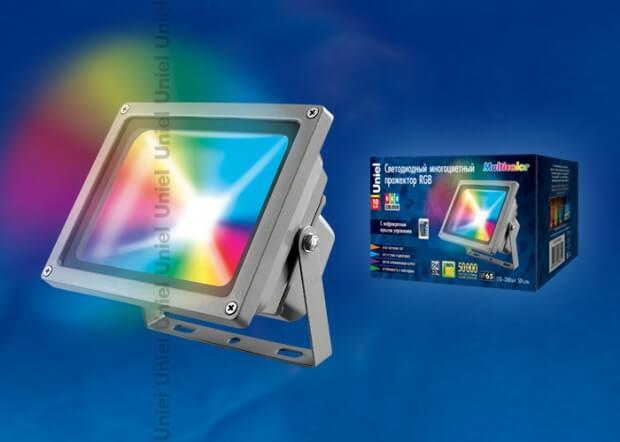 ULF-S01-10W/RGB/RC IP65 110-240В картон