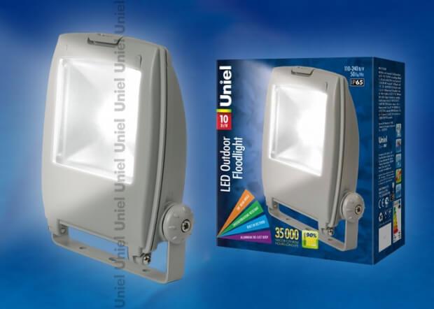 ULF-S02-10W/NW IP65 110-240В GREY картон