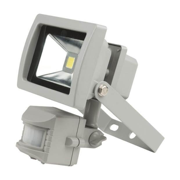 Прожектор светодиодный с датчиком движения ULF-S21-10W/NW SENSOR IP54 110-240В