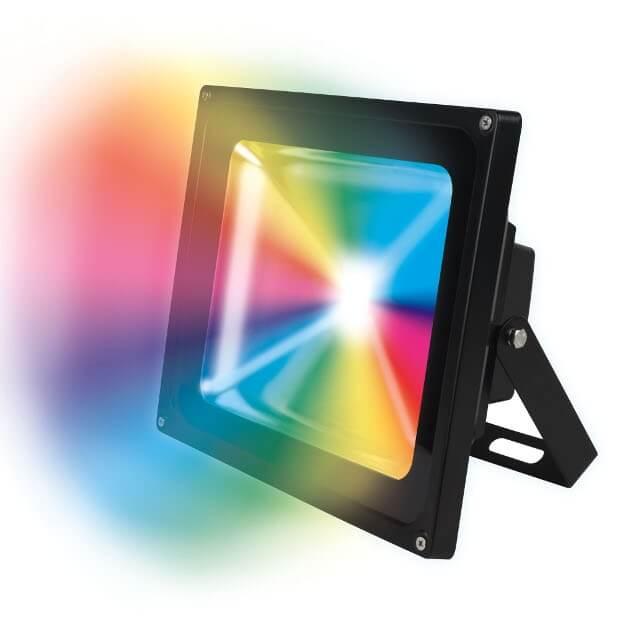 Прожектор ULF-S01-50W/RGB/RC IP65 110-240В