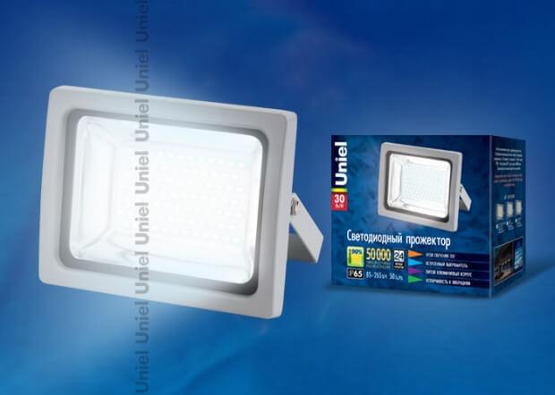 ULF-S04-30W/NW IP65 85-265В GREY картон