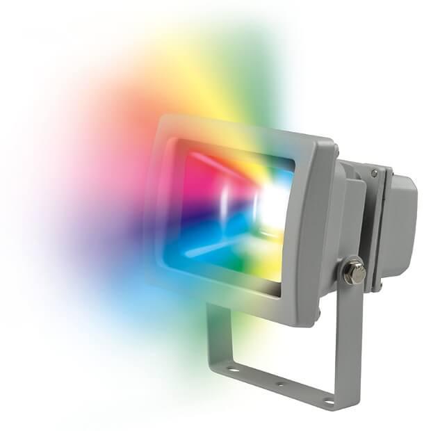 Прожектор ULF-S01-10W/RGB IP65 110-240В
