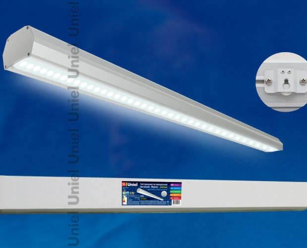 Светильник светодиодный накладной Мурена ULT-V14-39W/NW IP65 GREY
