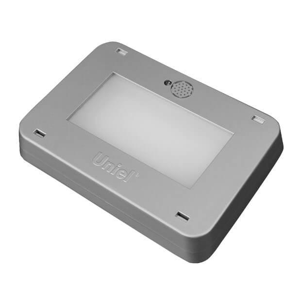 Светодиодный антивандальный светильник Наутилус ULT-V41-9.5W/NW SENSOR IP65 SILVER