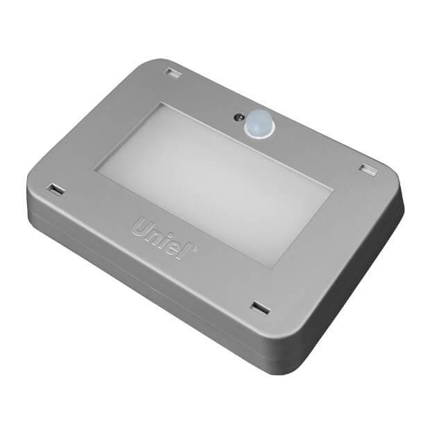 Светодиодный антивандальный светильник Наутилус ULT-V21-9.5W/NW SENSOR IP65 SILVER