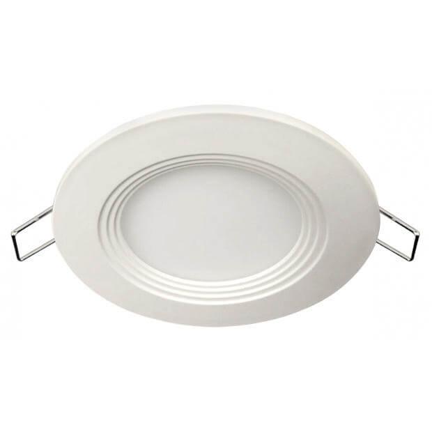 Панель светодиодная круглая RLP-eco 6Вт 160-260В 4000К 420Лм 120/100мм белая IP40 LLT