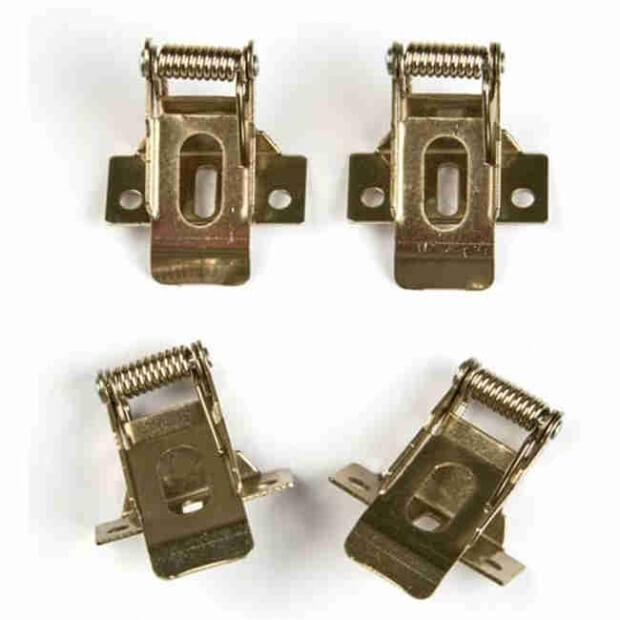 Комплект крепежных скоб для установки в гипсокартон (ультратонкие панели)