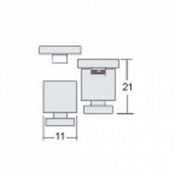 Комплект потолочных креплений OFL 5771 (2 шт.)