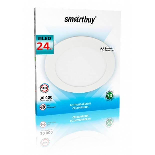 Встраиваемый (LED) светильник DL Smartbuy-24w 5000K 300х10