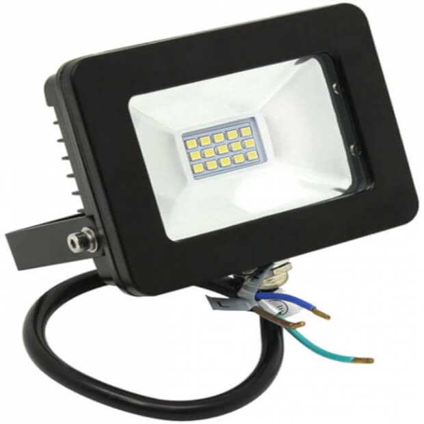 Светодиодный (LED) прожектор FL SMD Smartbuy-10W/6500K/IP65 (SBL-FLSMD-10-65K)