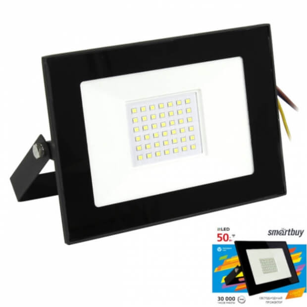Светодиодный (LED) прожектор FL SMD LIGHT Smartbuy-50W/6500K/IP65 (SBL-FLLight-50-65K)