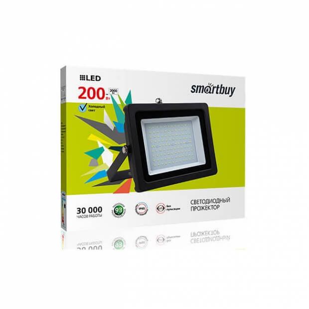 Светодиодный (LED) прожектор iPad style SB-200W/6500K/IP65 (SBL-FLIP-200-65K)