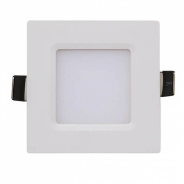Панель светодиодная квадратная SLP-eco 3Вт 230В 4000К 210Лм 86х86х23мм белая IP40 IN HOME