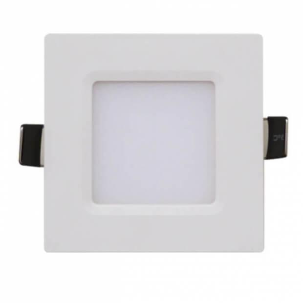 Панель светодиодная квадратная SLP-eco 6Вт 230В 4000К 420Лм 108х108х23мм белая IP40 IN HOME
