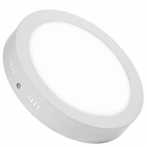 Панель светодиодная круглая NRLP-eco 24Вт 230В 4000К 1680Лм 300мм белая накладная IP40 IN HOME