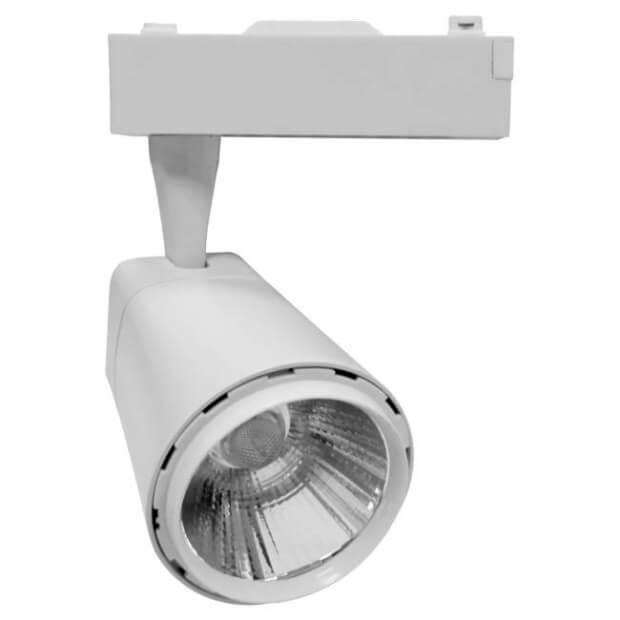 Светильник светодиодный трековый TR-03 10Вт 230В 4000К 900Лм 76x95x145мм белый IP40 LLT