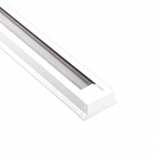 Шинопровод однофазный для трекового светильника R-1 белый 1 м LLT