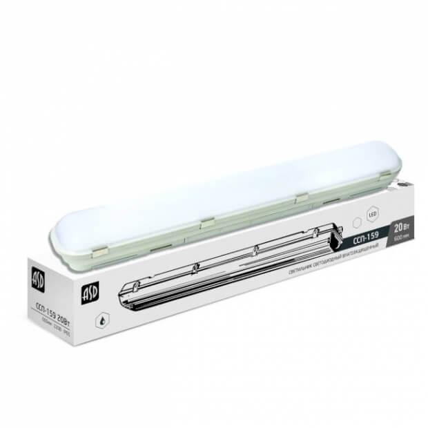 Светильник светодиодный герметичный ССП-159 18Вт 230В 6500К 1350Лм 640мм IP65 LLT