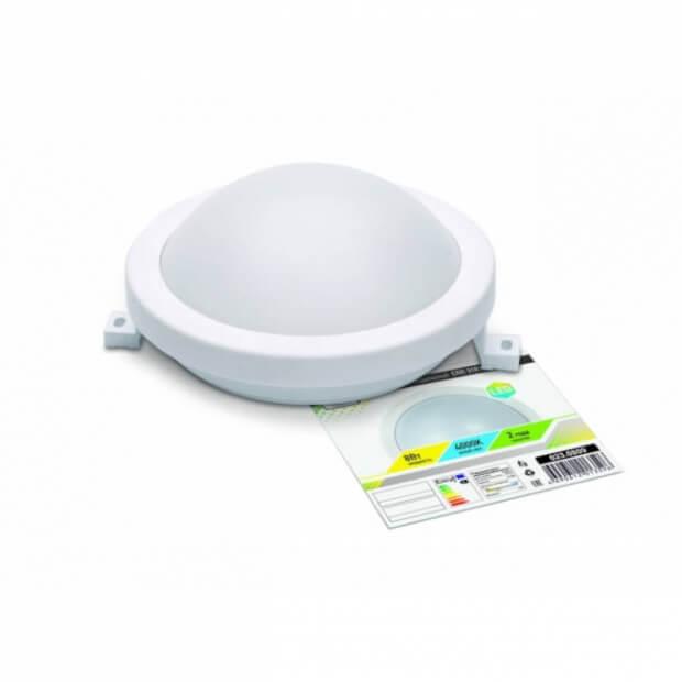 Светильник светодиодный герметичный СПП 3101 8Вт 230В 4000К 640Лм 150мм круг IP65 LLT