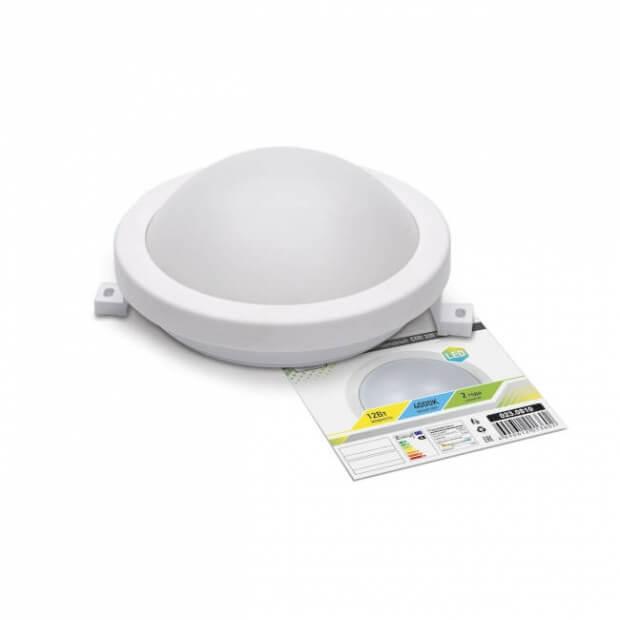 Светильник светодиодный герметичный СПП 3301 12Вт 230В 4000К 960Лм 150мм круг IP65 LLT