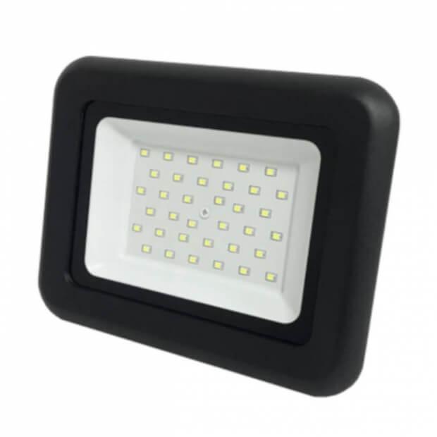 Прожектор СДО-07-70 светодиодный черный IP65 ASD