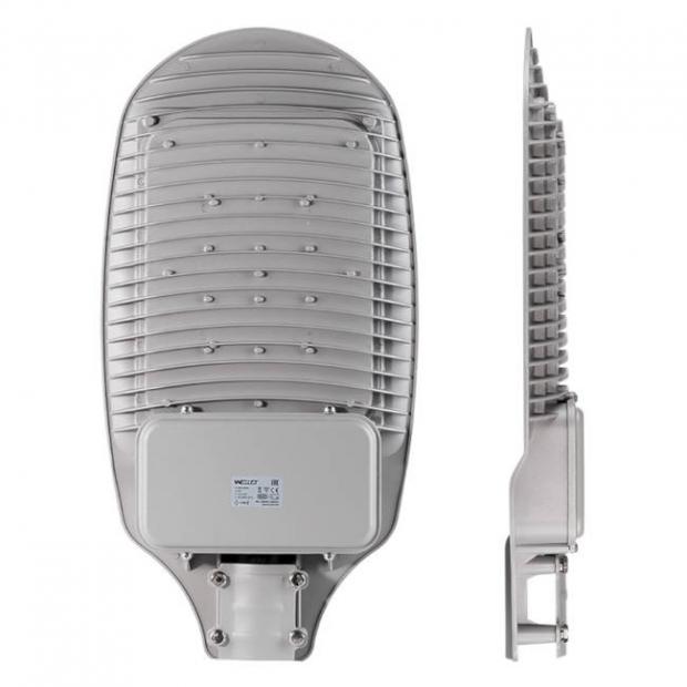 Уличный светодиодный светильник 100W 12000Lm STL-100W01 IP65,  5000-5500 К, алюминий, линза