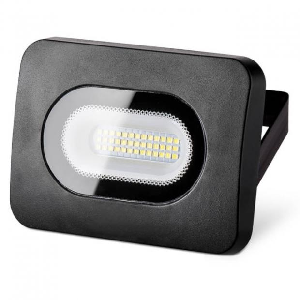 Светодиодный прожектор 1700Lm LFL-20W/05, 5500K, 20W SMD, IP 65, цвет серый, слим
