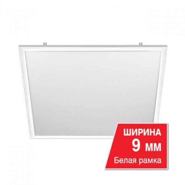 Светодиодная панель LPC40W60-02 40W 6500 K (в комплекте с драйвером LD1-40) Белая рамка