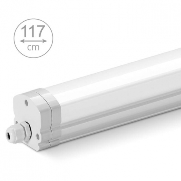 Светодиодный светильник 1175 мм, IP 65, 36 Вт, 6500К