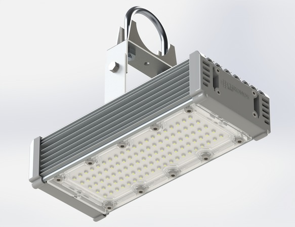 Промышленный светодиодный светильник Модуль М-10, универсальный У-1, 64 Вт