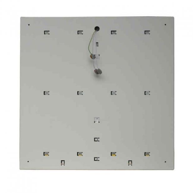 Светильник светодиодный Офис ДВО 36 Вт, 5000K, ip40, 595х595х40,  Аварийный