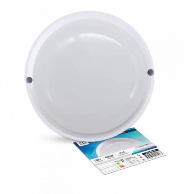 Светильник светодиодный герметичный СПП-840-КРУГ 8Вт 230В 4000К 135мм ASD