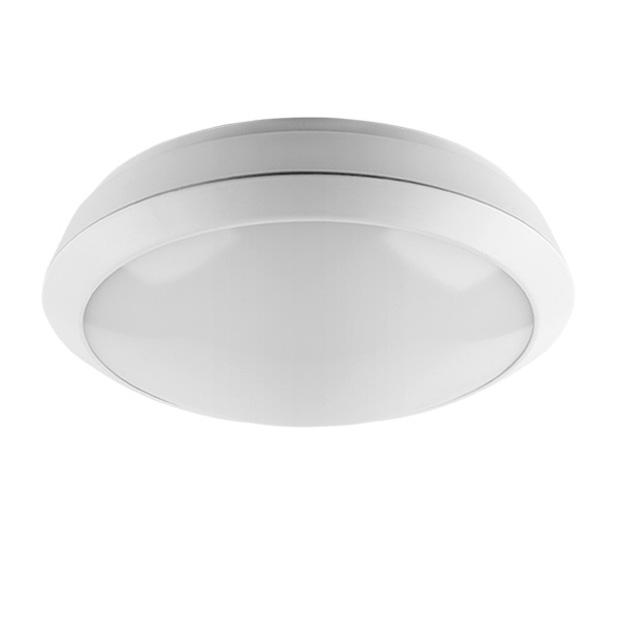 Светодиодный светильник 12 Bт, cдатчиком движения, IP 54, круг, 6500K