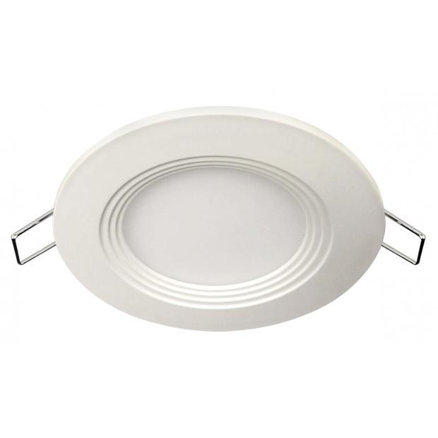 Панель светодиодная круглая RLP-eco 14Вт 160-260В 4000К 980Лм 170/155мм белая IP40 LLT