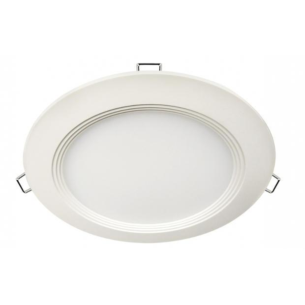 Панель светодиодная круглая RLP-eco 24Вт 160-260В 4000К 1440Лм 300/285мм белая IP40 LLT