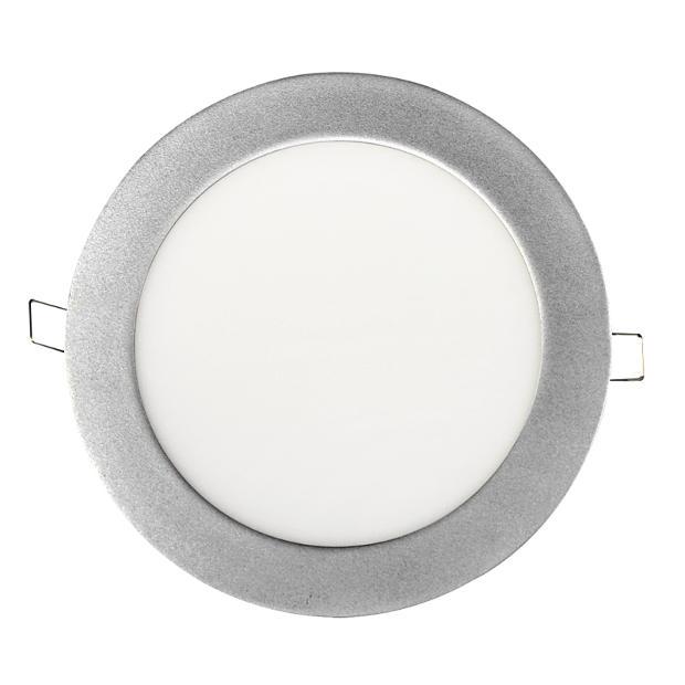 Панель светодиодная круглая RLP 14Вт 160-260В 4000К 1120Лм 170/155мм алюминий IP40
